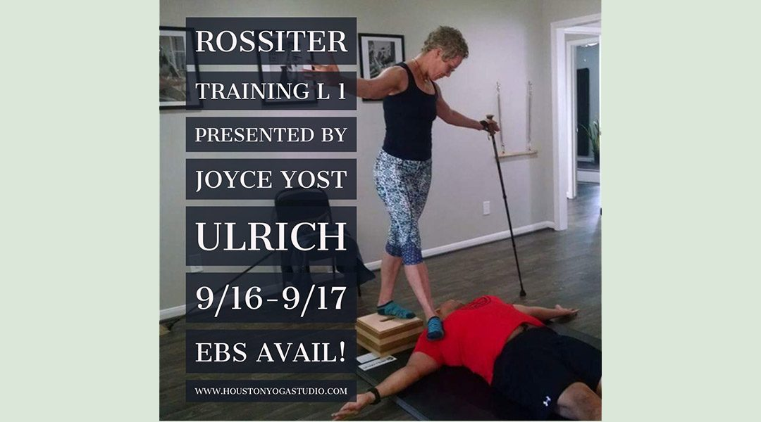 Rossiter Training Level 1 Houston